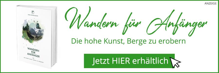 Wandern für Anfänger Banner für den Blog